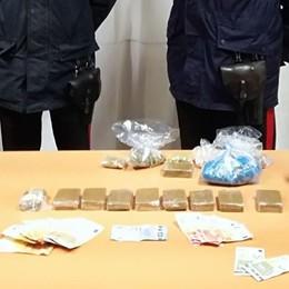 Droga nella Bassa, quattro arresti Uno dei fermati era in malattia