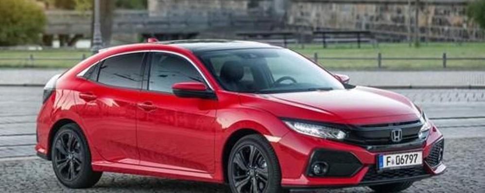 Honda Civic giunge alla decima generazione