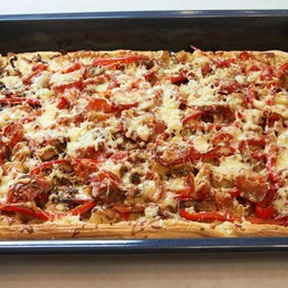 Facciamoci una pizza (in teglia)