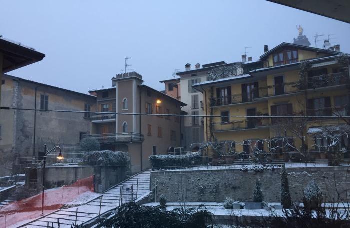 La neve a Zogno