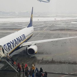 Orio: voli cancellati per Parigi e Dublino In aeroporto un Piano Emergenza Neve