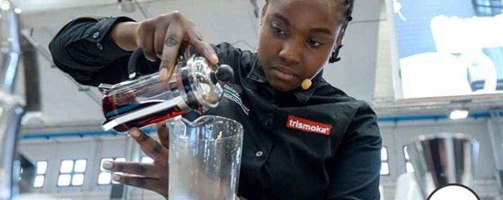 Sarnico, la 15enne Rasci sul podio con il suo caffè ha il profumo d'Africa