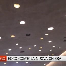 Cavernago: ecco come sarà in anteprima la nuova chiesa