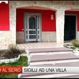 Sigilli ad una villa a Cologno al Serio. Viveva un 31 enne rom senza reddito e lavoro