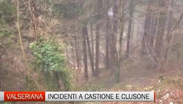 Valseriana - Incidenti a Castione e Clusone