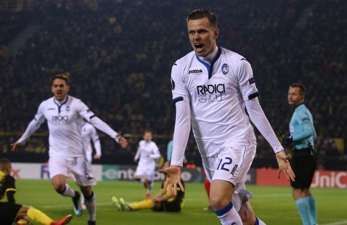 Uefa Europa League Borussia Dortmund - Atalanta dopogol 1-1 ilicic josip