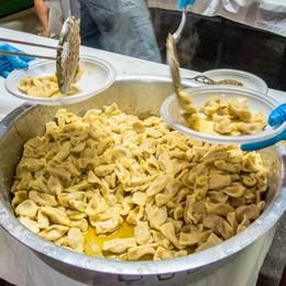 Gemellaggio all'insegna del gusto  Scarpinocc di Parre e tortelli cremaschi