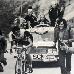 """«Legato ai 12"""" che mi costarono il Giro» Giovedì il libro di Tista Baronchelli"""