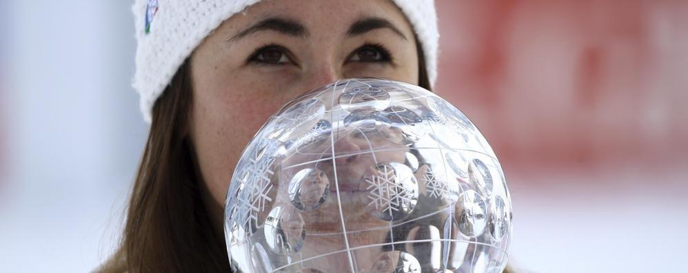 Dopo l'oro la Coppa del Mondo Sofia Goggia regina della discesa