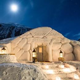 Livigno, un ristorante glaciale sul piccolo Tibet valtellinese