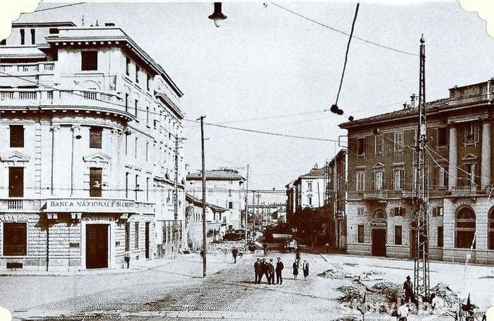 Via Camozzi inizio Novecento