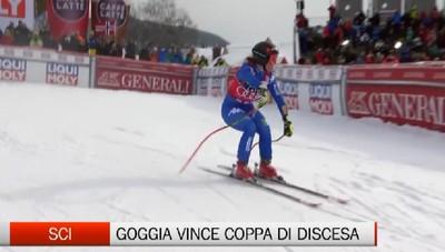 Sci, Sofia Goggia vince Coppa del Mondo di discesa