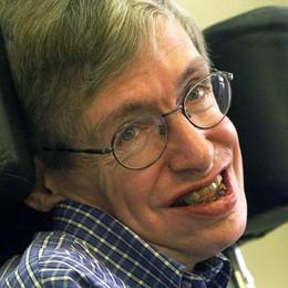 Stephen Hawking, in un suo film alcune scene girate a Bergamo