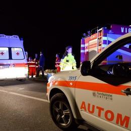 Grave incidente in autostrada a Trezzo Muore 65enne, traffico in tilt nella serata