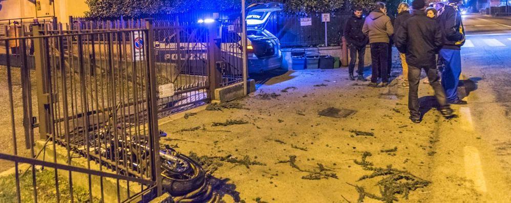 Morto nello schianto in moto a Luzzana Lascia compagna incinta al sesto mese