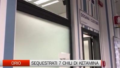 Orio al Serio: sequestrati 7 kg di ketamina