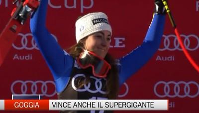 Sci, Sofia Goggia vince anche il Superg di Are