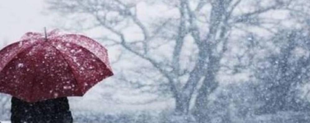 Meteo, termometro in picchiata Tre giorni di pioggia e neve a bassa quota