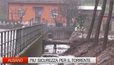 Albano - Il torrente in sicurezza