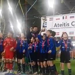 Atalanta, pulcini vincono in Lituania  Coro sul podio: «Bergamo, Bergamo...»