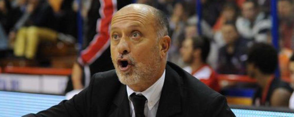 Bergamo basket, arriva il nuovo coach  Sacco: «Otto partite, saranno tutte finali»