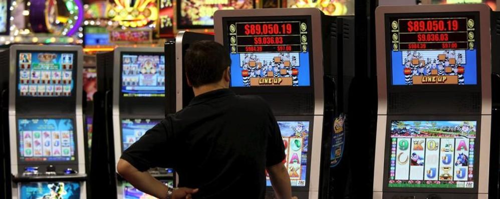 Bergamo, cala il gioco d'azzardo  Incassi ridotti del 3,7%, slot -14%