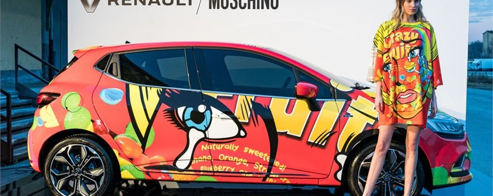 Moda e motori: arriva Renault Clio Moschino