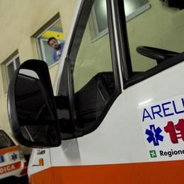 Val Brembilla, fuori strada con l'auto Soccorsi in azione per un 75enne
