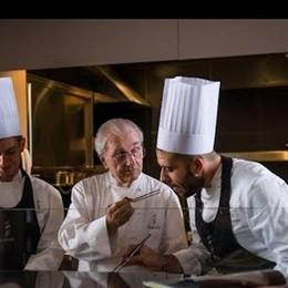 Gualtiero Marchesi, il genio in cucina Un documentario in sala a Bergamo