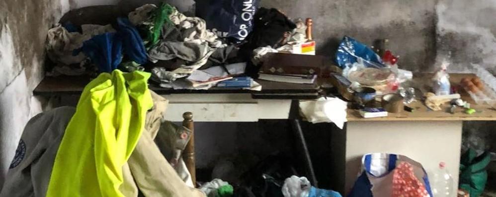 Zingonia, un pitbull a guardia della droga Ecco i militari in azione nelle case - Video