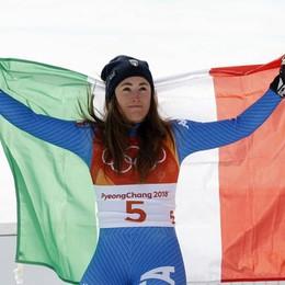 L'intervista premonitrice di Sofia Goggia «Sul podio olimpico? Nella discesa»