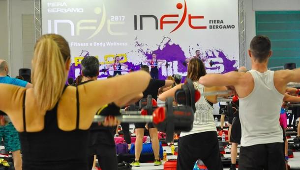 Weekend all'insegna del fitness Alla Fiera di Bergamo c'è InFit