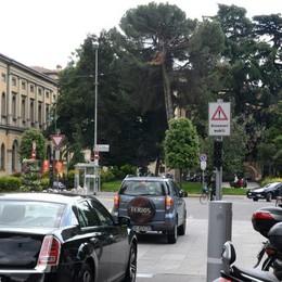 Largo Belotti, attenti alla telecamera Per la Ztl scattano le multe dal 2 maggio