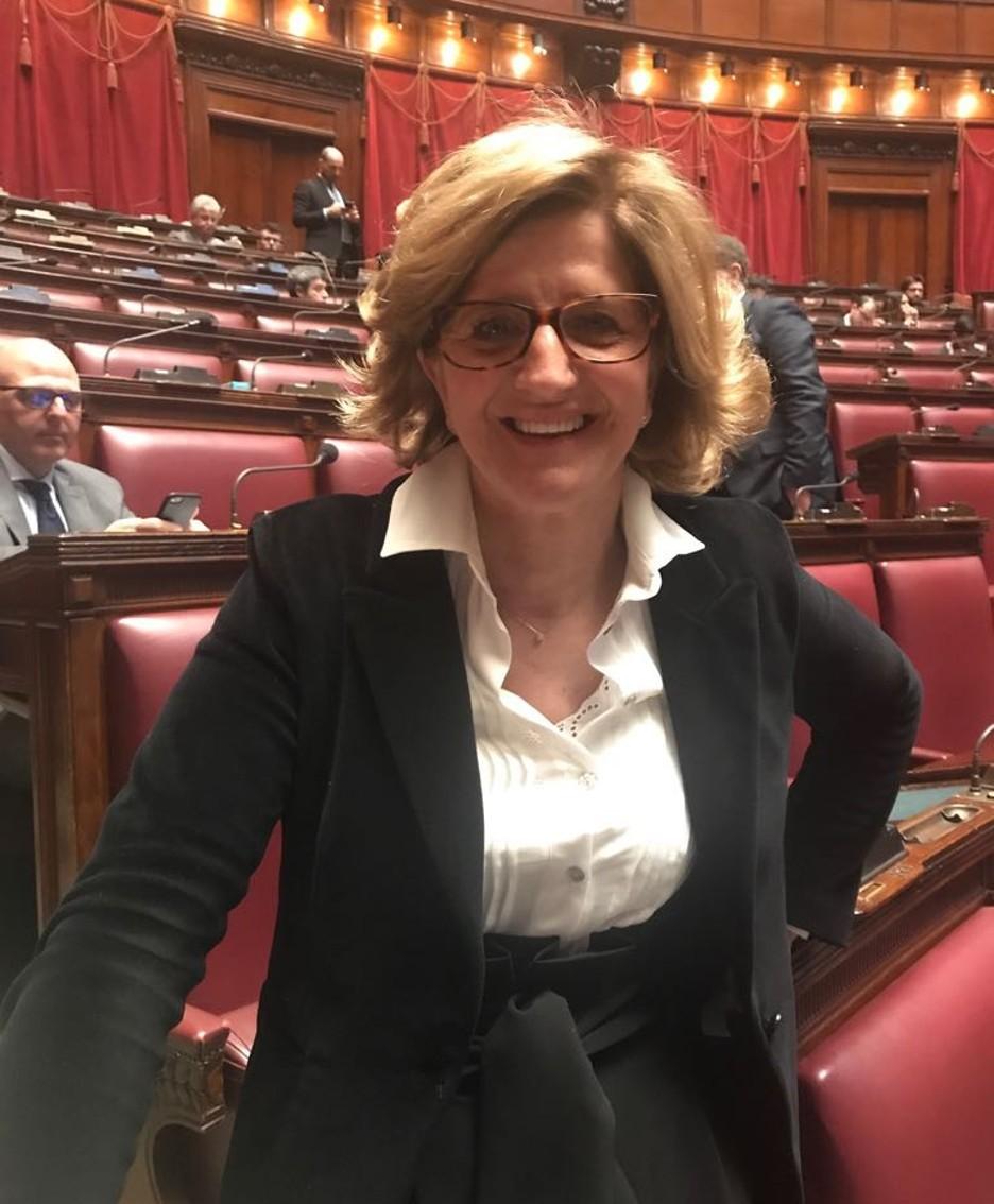 La deputata Elena Carnevali (Partito democratico)