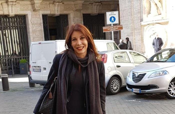 La senatrice della Lega Simona Pergreffi
