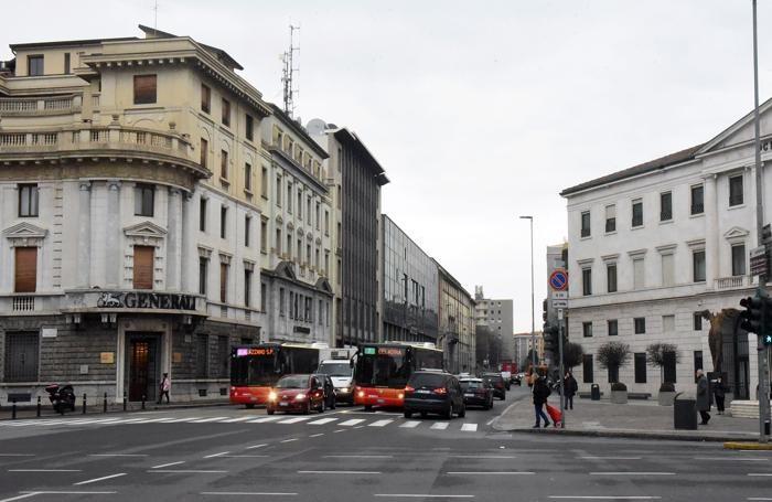 Via Camozzi oggi