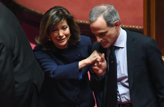 Maria Elisabetta Alberti Casellati, nuovo presidente del Senato