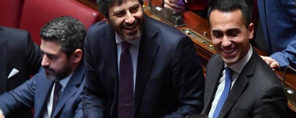 Eletti i nuovi presidenti delle camere fico a montecitorio for Differenza tra camera e senato