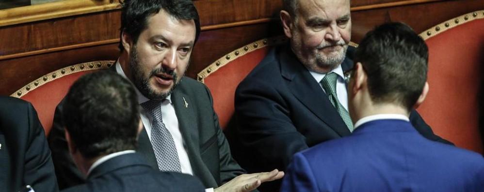 La forzatura di Salvini E il Pd resta a guardare