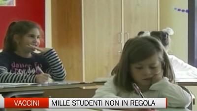 Obbligo vaccini - In Bergamasca mille studenti non in regola
