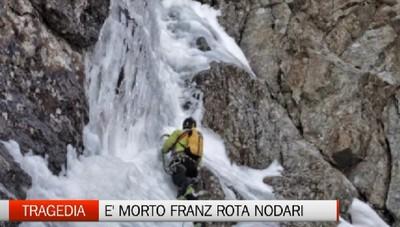 Tragedia in montagna, l'alpinista Franz Rota Nodari scivola e muore sulla Concarena (Bs)