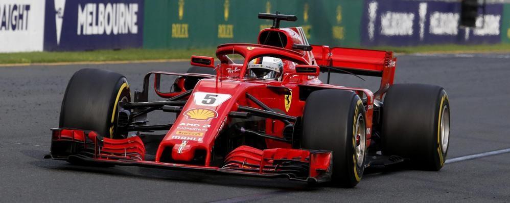 Alla Ferrari il primo trionfo stagionale Vettel batte tutti sul circuito di Melbourne