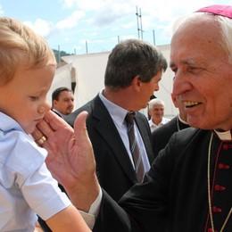L'addio a monsignor Lino Belotti Questa mattina i funerali in Cattedrale