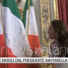 Olimpiadi, Goggia e Moioli dal presidente Mattarella