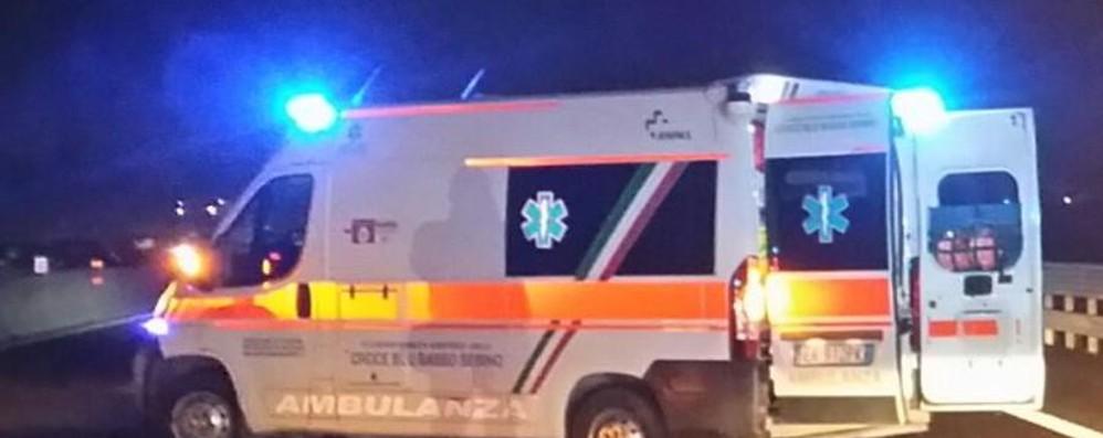 Ciclista investito a Cologno al Serio È in gravi condizioni, sul posto il 118