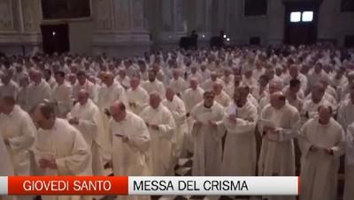 Messa del Crisma: mons. Bonicelli ricorda il 70 anni di ordinazione