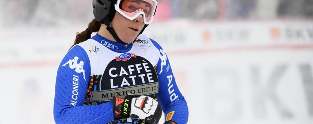 Goggia, ritorno amaro dopo le Olimpiadi Finisce quindicesima a Crans Montana