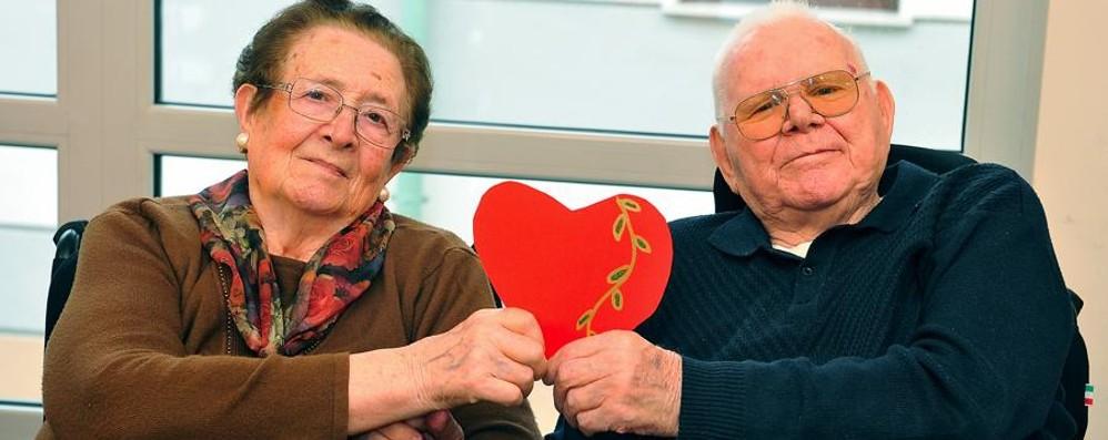 Ersilia e Giacomo, 70 anni di matrimonio «Il nostro segreto? La santa pazienza»