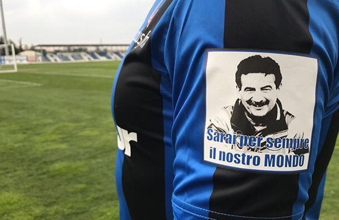 La maglia speciale dell'Atalanta, in campo oggi contro l'Udinese