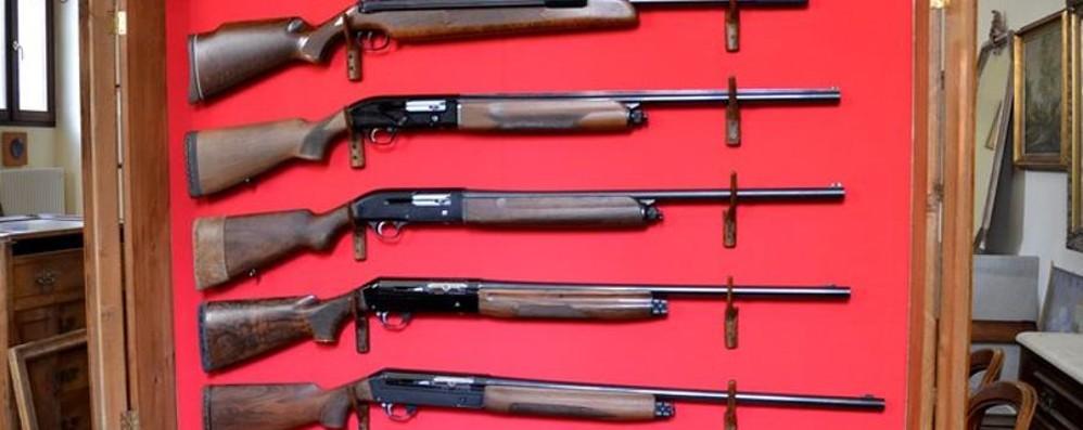 Prelevano la cassaforte dalla villa Dentro c'erano dieci fucili da caccia